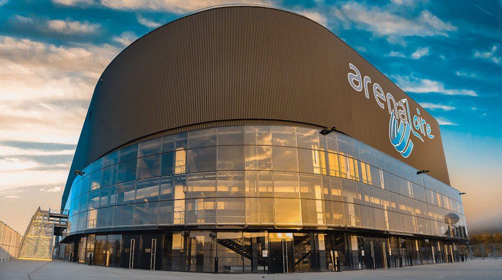 Parking de la Salle d'Arena Loire Trélazé