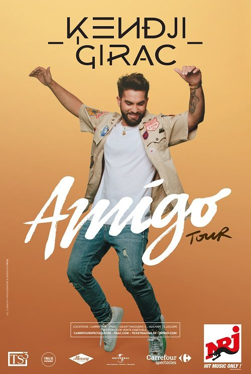 KENDJI GIRAC - AMIGO TOUR